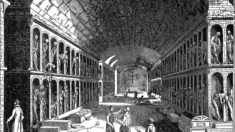 Le catacombe dei frati cappuccini di Palermo